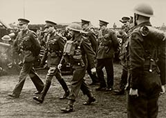King George VI Inspection April 1941